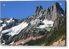 Liberty Bell Mountain Range Over Washington Pass Acrylic Print
