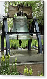 Acrylic Print featuring the photograph Liberty Bell Replica by Mike Eingle
