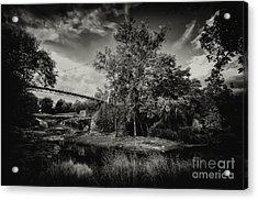 Liberty Bridge Greenville Sc Acrylic Print