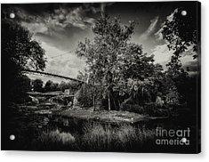 Liberty Bridge Greenville Sc Acrylic Print