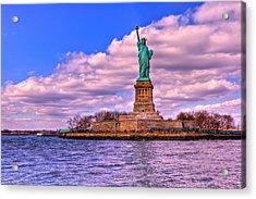 Liberty Acrylic Print by David Hahn
