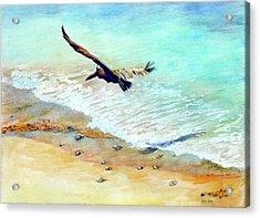 Liberty Acrylic Print by Estela Robles