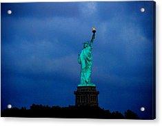 Liberty Acrylic Print by Fareeha Khawaja