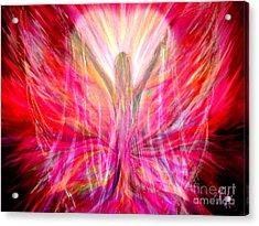 Liberty In My Heart Acrylic Print