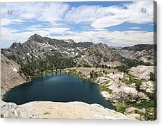 Liberty Lake At Nevada's Ruby Mountains Acrylic Print