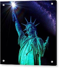 Liberty Sky Acrylic Print