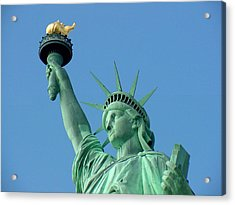 Liberty Stand Tall Acrylic Print
