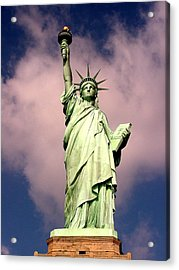 Liberty V01 Acrylic Print by Tim Mattox