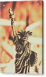 Liberty Will Enlighten The World Acrylic Print by Jorgo Photography - Wall Art Gallery