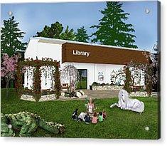Library Acrylic Print
