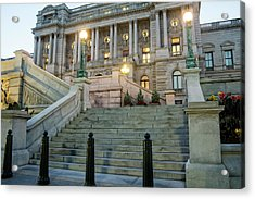 Library Of Congress Acrylic Print by Greg Mimbs
