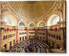 Library Of Congress I Acrylic Print by Robert Davis