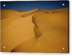 Libya Dunes Acrylic Print