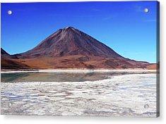 Licancabur Volcano, Bolivia Acrylic Print by Aidan Moran
