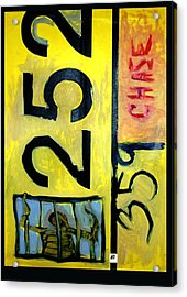 Acrylic Print featuring the painting License by Carol Rashawnna Williams