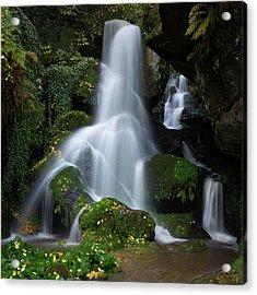 Lichtenhain Waterfall Acrylic Print
