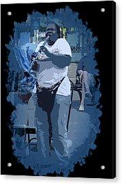 Licorice Stick Soul Acrylic Print by Linda Kish
