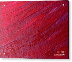 Licorice Weave Acrylic Print by Shelly Wiseberg