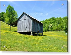Lieper's Fork Cabin Acrylic Print by Jan Amiss Photography