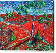Life Carries On Acrylic Print by Rollin Kocsis