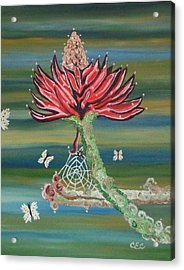 Life Cycles Acrylic Print by Carolyn Cable