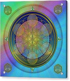 Life Flower Acrylic Print