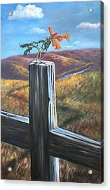 Acrylic Print featuring the painting Triumphant by Randol Burns