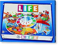 Life Game Of Life Board Game Painting Acrylic Print