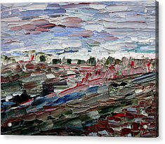 Acrylic Print featuring the painting Life Goes On by Vadim Levin