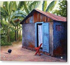 Life In Haiti Acrylic Print