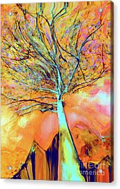 Life In The Trees Acrylic Print