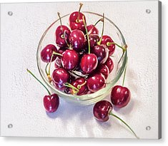 Life Is A Bowl Of Acrylic Print