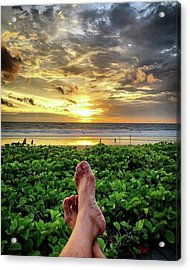 Life Is A Gift, Every Day Of Life Is Acrylic Print by Arya Swadharma
