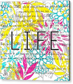 Life Is A Gift Acrylic Print