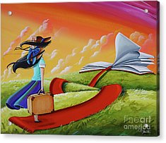 Life Is An Open Book Acrylic Print