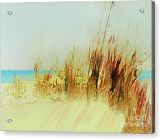 Life Is Better On The Beach Acrylic Print