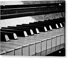 Life Is Like A Piano Acrylic Print