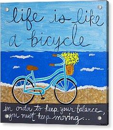 Life Is... Acrylic Print