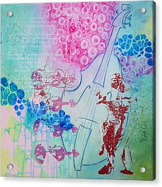Life Is Music Love Is The Lyric Acrylic Print