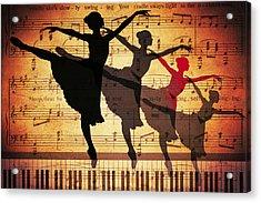 Life Is Music Acrylic Print