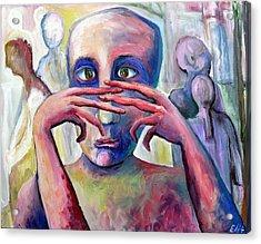 Life Of Fingers Acrylic Print