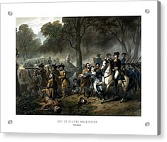 Life Of George Washington - The Soldier Acrylic Print