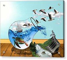 Life On Earth Acrylic Print
