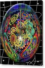 Life / Time Acrylic Print