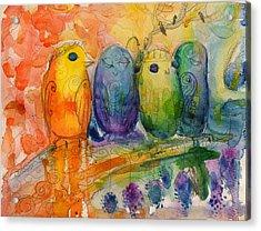 Life Transition  Acrylic Print
