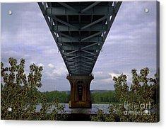 Life Under A Bridge Acrylic Print by The Stone Age