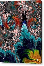 Life Underwater Acrylic Print