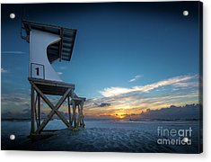 Acrylic Print featuring the photograph Lifeguard by Brian Jones