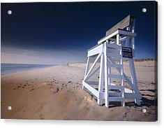 Lifeguard Chair - Nauset Beach Acrylic Print