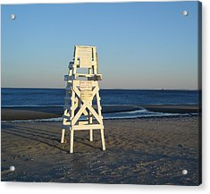 Lifeguard Chair  Acrylic Print